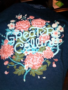 "Sevenly ""Greater Calling"" shirt"