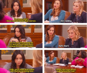 The Parks and Rec Women